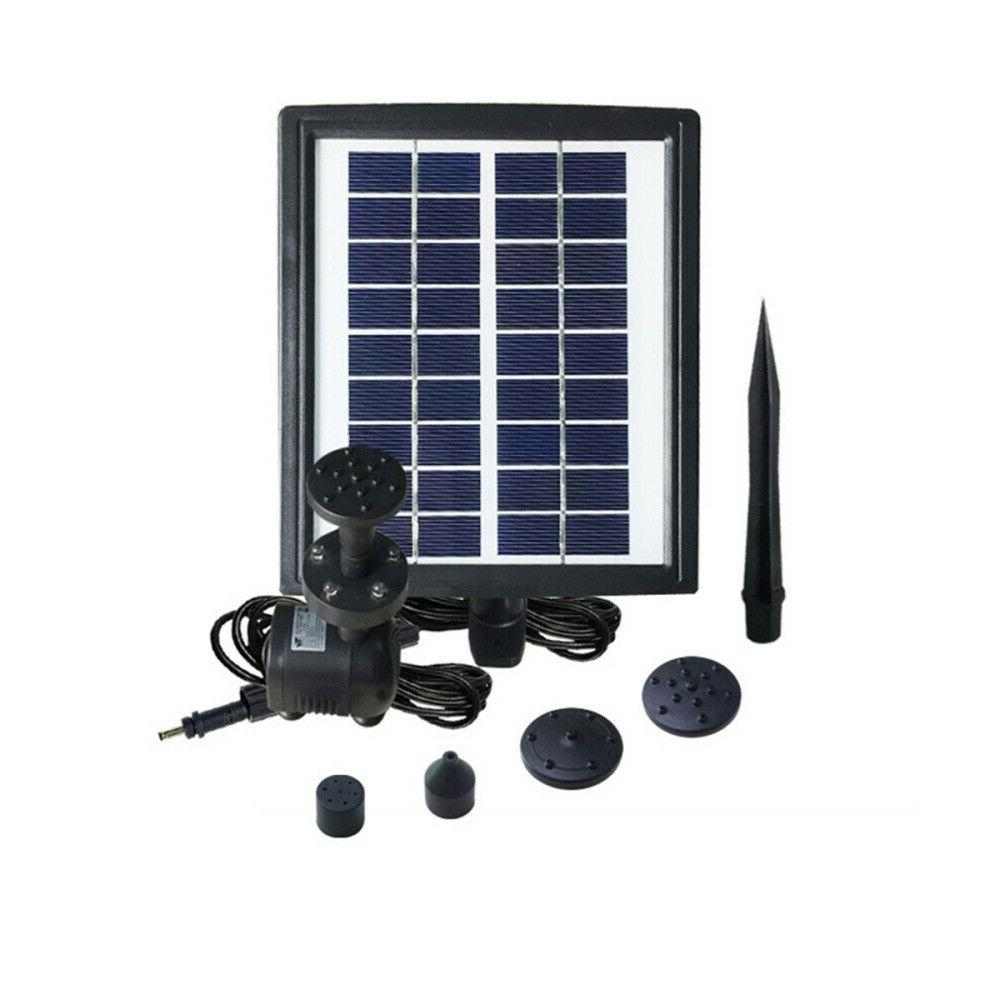 2.8W Solar Fountain Water With Pool
