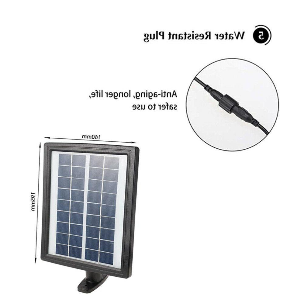 2.8W LED Solar Fountain Submersible Water With Pool