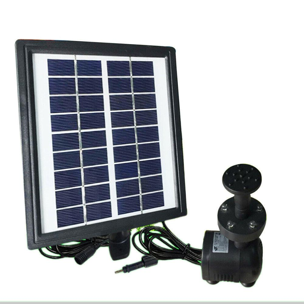 2.8W Solar Power Fountain With Filter Pool