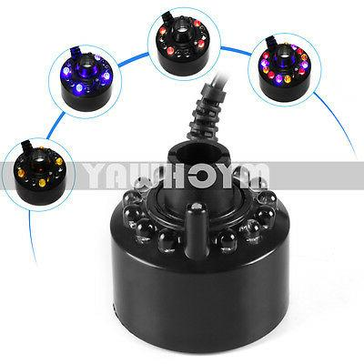 New Mist 12 LEDs Mister Fogger Water Atomize 1pc