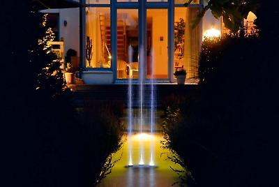 oase water entertainment fountain and lighting