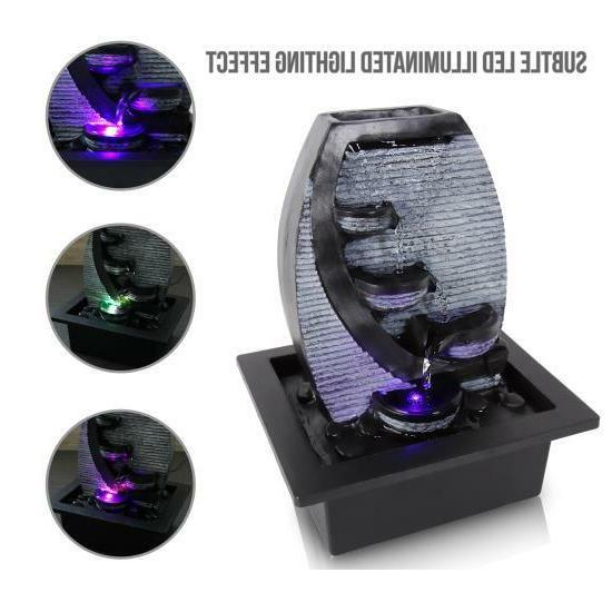 SereneLife Water w/ LED,