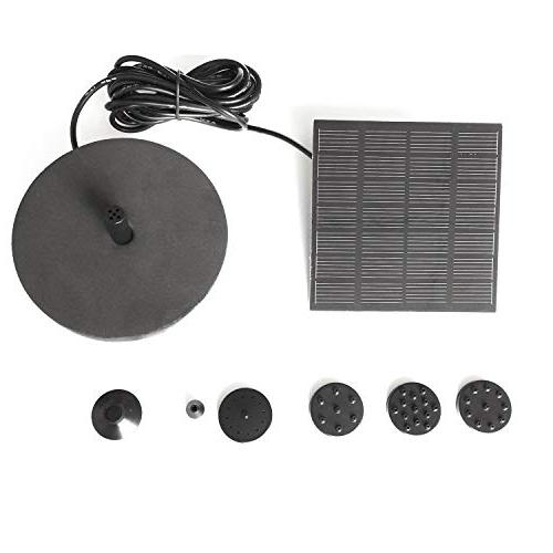 REFURBISHHOUSE Solar Pump For Powered Panel Kit For Garden Floating