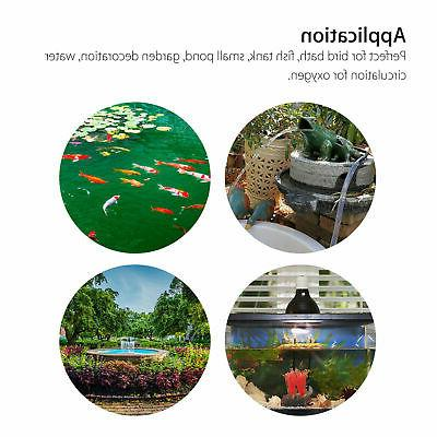 Solar Power Water Pond Decor