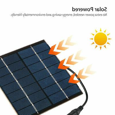 Solar Power Water Pond Garden Decor
