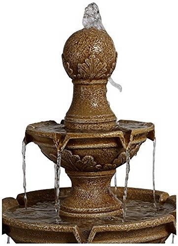 "Stafford Three 48"" High Outdoor Fountain"