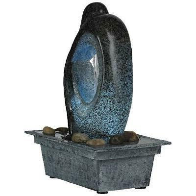 """Fountain with LED 10"""" In Silhouette"""