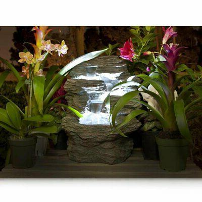Water Top, Rock Table Fountain, With