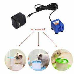 Pet Dog Cat Plastic Water Fountain Pump Submersible Drinking