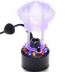 FITNATE Mist Maker, 12 LED Mister Fogger Water Fountain Pond