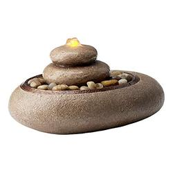 oceanside relaxation tabletop fountain