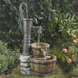 Jeco Inc. Old Fashioned Pump Water Fountain