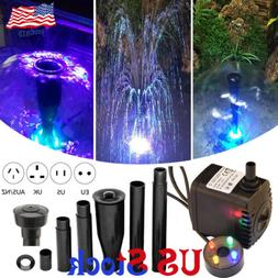 oxygen aquariums fountain pond submersible water pump