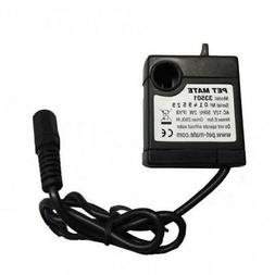 PET MATE 12V PUMP REPLACEMENT PETMATE CAT DOG DRINKING FOUNT