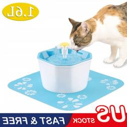 Pet Water Fountain Electric Water Dispenser For Cat Dog Auto
