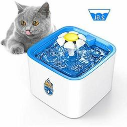Pet Water Fountains Fountain, 84oz/2.5 L Automatic Electroni