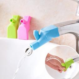 Portable Silicone Fountain Tap Kitchen Home Water Faucet Ext