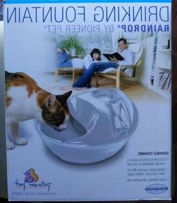 Pioneer Pet Raindrop Pet Fountain size: 60 Fl Oz, White