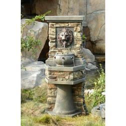 Relaxation Fountain Outdoor Indoor Water Waterfall Feature T