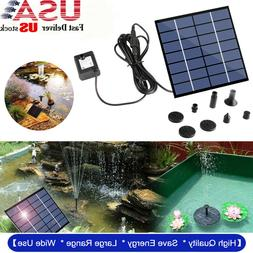 solar panel powered water submersible floating bird