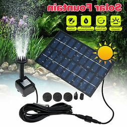 solar power fountain submersible water pump bird
