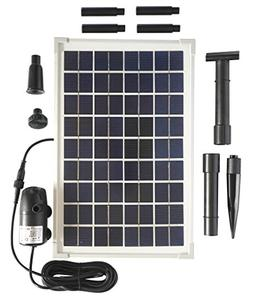 Solar Water Pump Kit - 200GPH Submersible Water Pump and 10