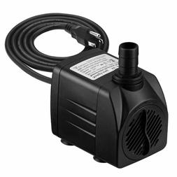 Homasy 400GPH Submersible Pump 25W Fountain Water Pump with