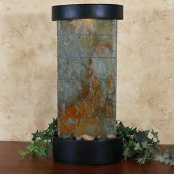 Sunnydaze Indoor Tabletop or Wall Water Fountain - Natural S
