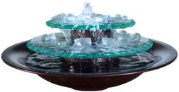 table top fountain bluworld moonlight led lighting