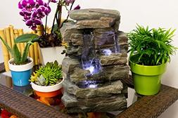 Alpine Corporation Tabletop Waterfall Fountain - WIN220
