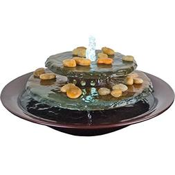 Bluworld Tranquility Pool Tabletop Fountain