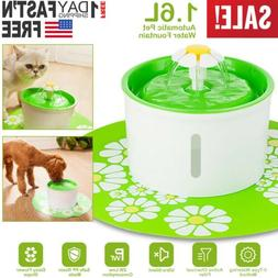 us automatic cat dog water drinking flower