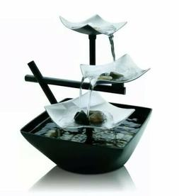 HoMedics Used Envirascape Relaxation Zen Garden Water Founta