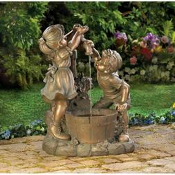WATER FOUNTAINS: Fun & Play Children Playing Well Outdoor Fo