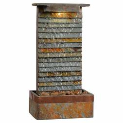 Water Fountains Indoor Table Wall Mount Hanging Lighted Pump