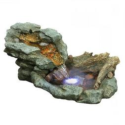 Alpine WIN568 Rock Waterfall Fountian with LED Lights
